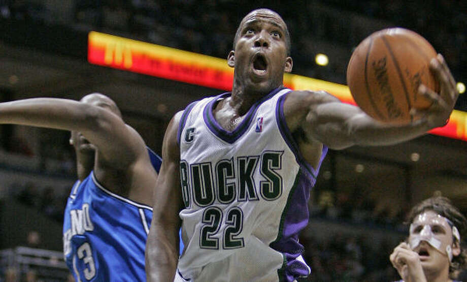 Michael Redd's shooting touch should the U.S. basketball squad some needed help from the outside. Photo: MORRY GASH, AP