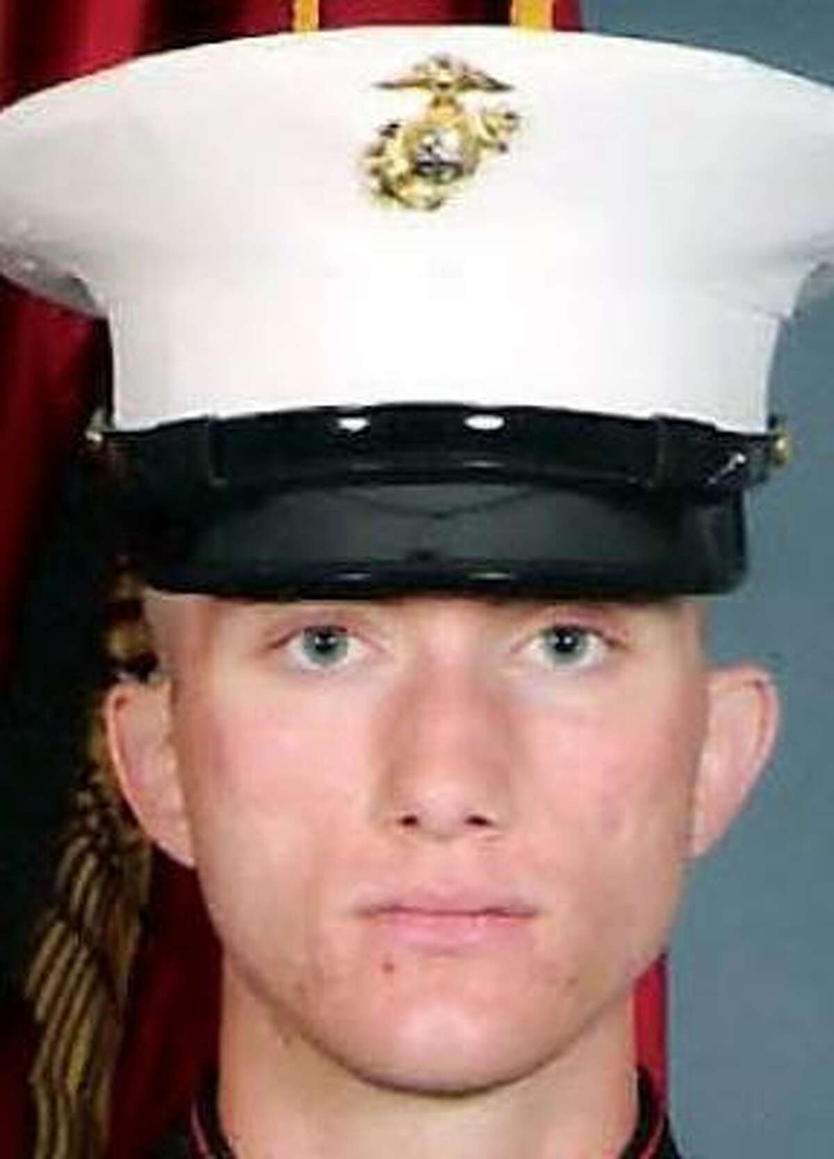photo of Marine Lance Cpl. Jeremy Burris, whose funeral was held Tuesday, Oct. 16, in Liberty. He was killed in combat operations in Iraq on Oct. 8.
