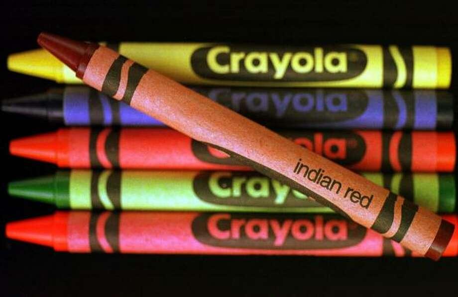 Crayolas have been around more than a century. Photo: DAN LOH, ASSOCIATED PRESS