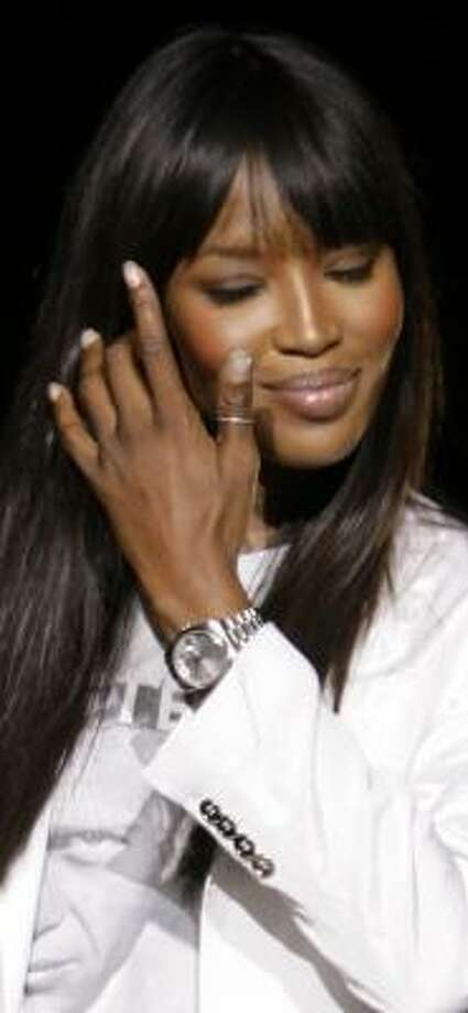 Naomi Campbell had a cyst removed in Sáo Paulo. Photo: LUCA BRUNO, AP FILE