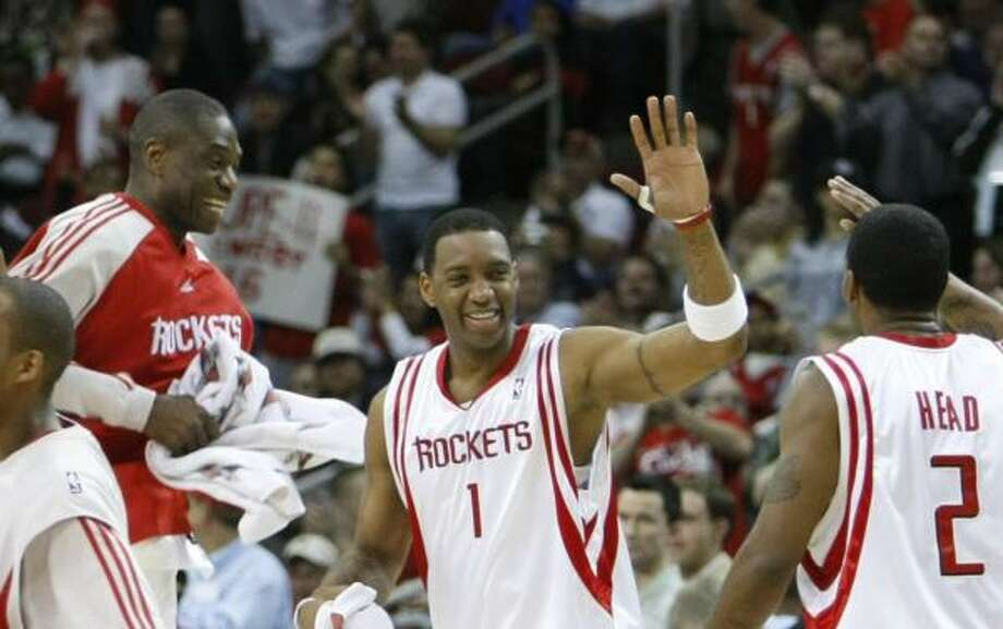 The Rockets have matched the second longest winning streak the NBA has ever seen. Photo: KEVIN FUJII, CHRONICLE