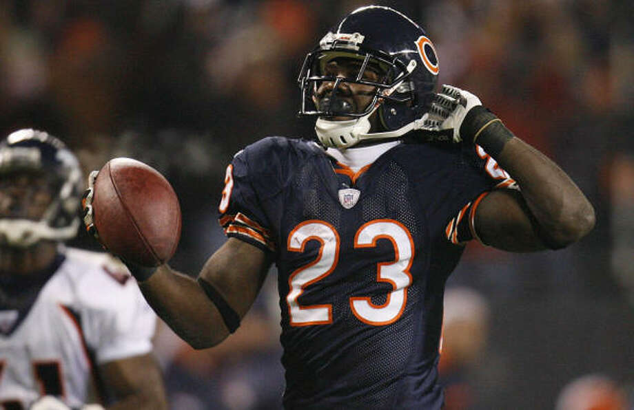 Devin Hester has already proven himself a formidable return man, now watch him try to become a consitent playmaker on offense. Photo: Jim Prisching, AP