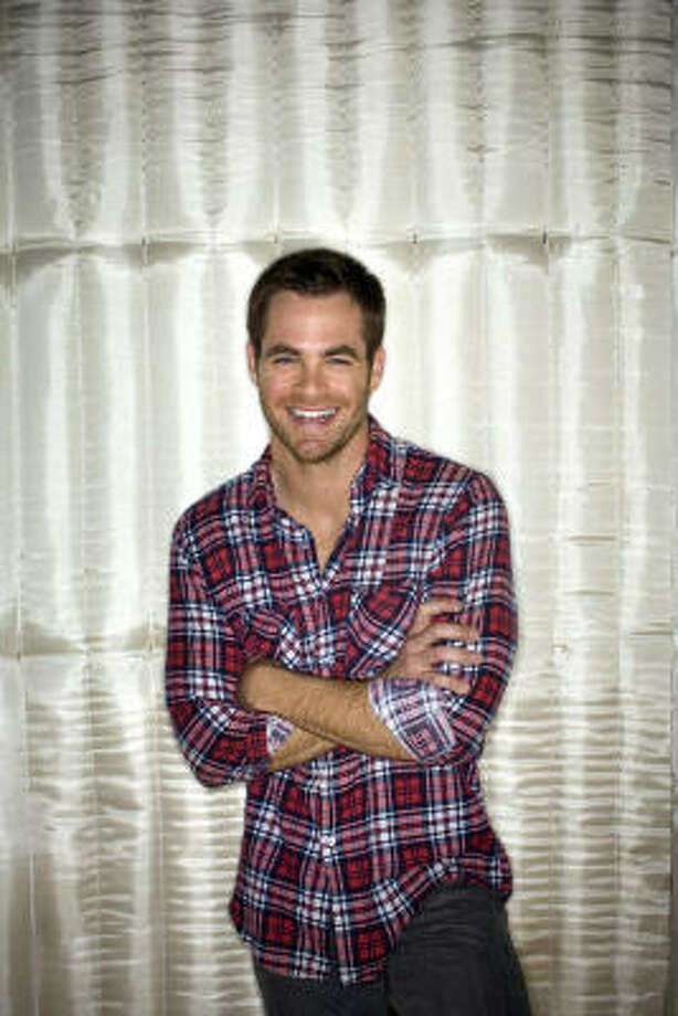 "Actor Chris Pine says he realized he was doing himself a disservice by watching the original Star Trek TV series, noting that William Shatner's version of the Enterprise captain is ""singular"" and ""set in stone."" Photo: JAY L. CLENDENIN, TPN"