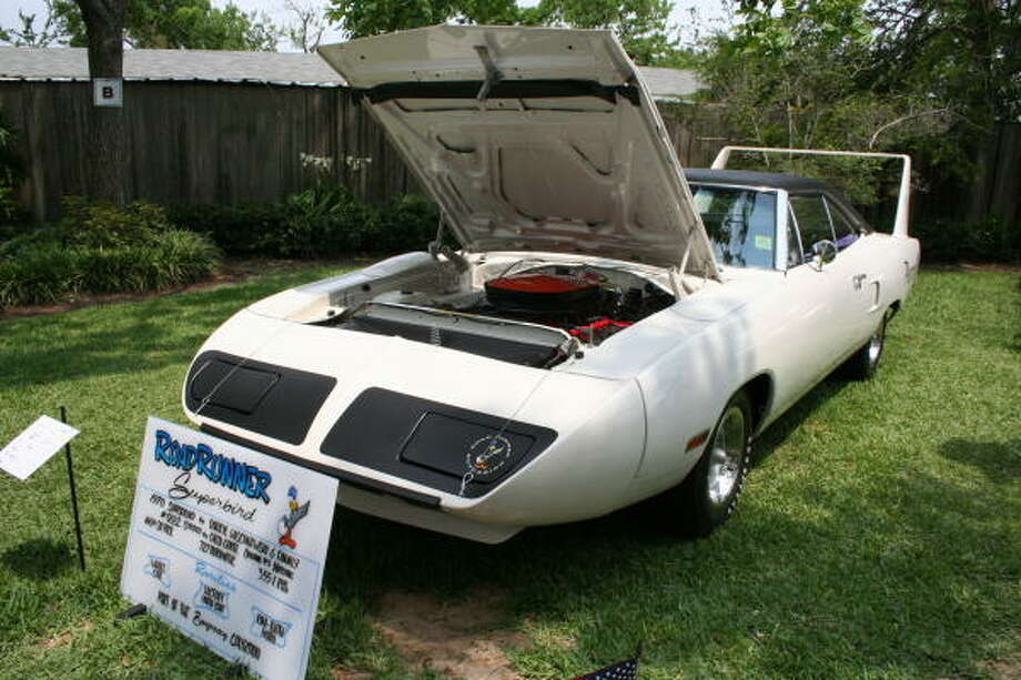 This rare 1970 Plymouth Road Runner Superbird is owned by Bayway Lincoln Mercury's Darryl Wischnewsky and family.