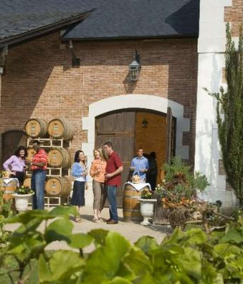 There are seven wineries in Grapevine, but six are really tasting rooms. Photo: GRAPEVINE CONVENTION & VISITORS BUREAU