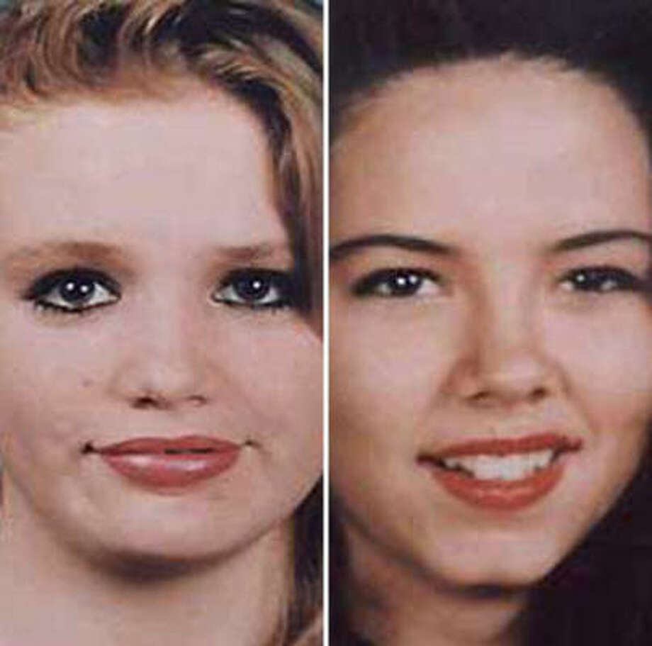 Jennifer Ertman, left, and Elizabeth Peña both attended Waltrip High School. Photo: Courtesy Photos
