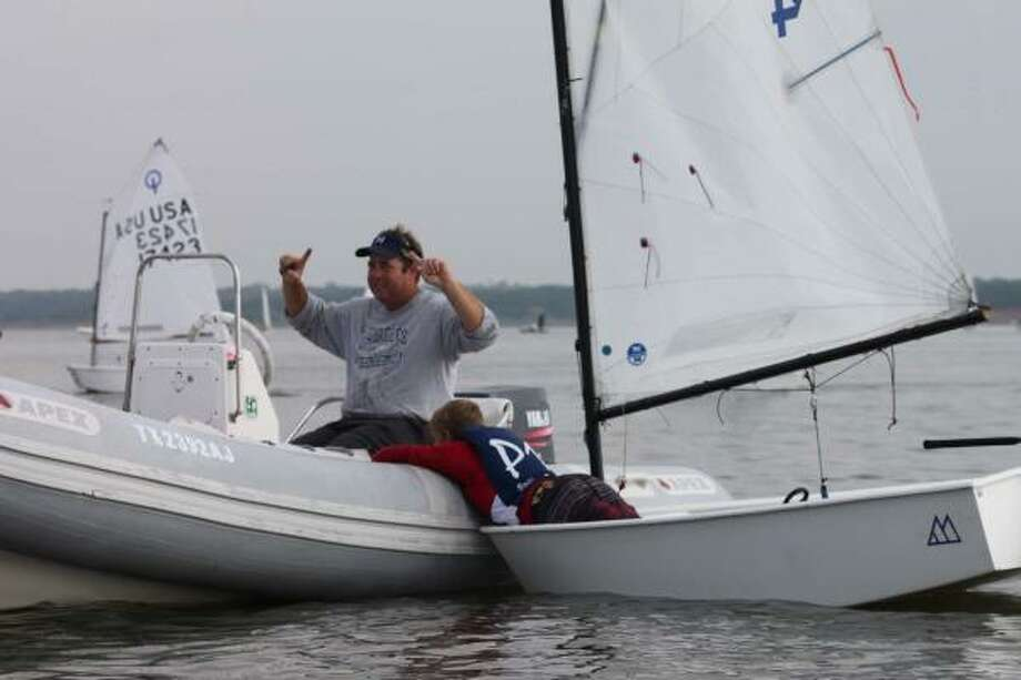 COURTESY HOUSTON YACHT CLUB ON THE WATER: Scott Lindley will begin his new role as sailing director at the Houston Yacht Club in January. Photo: ALL