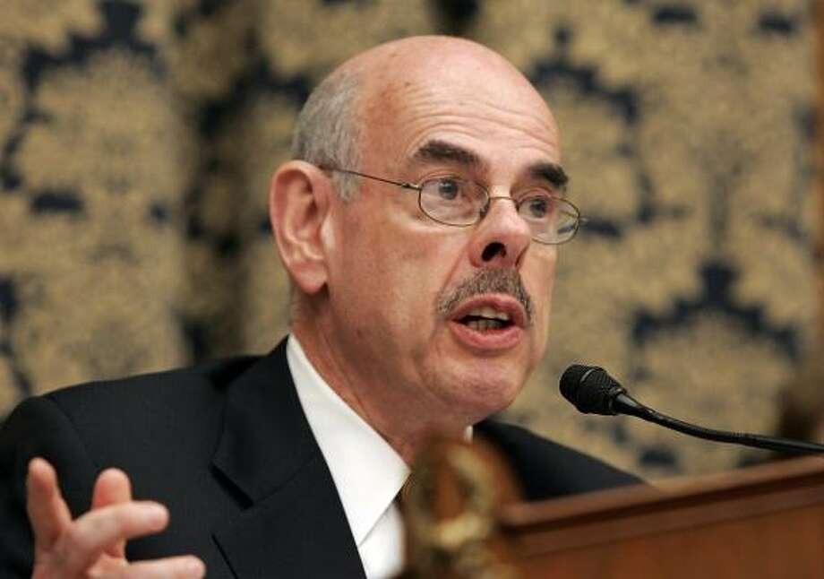 U.S. Rep. Henry Waxman, D-Calif., chairman of the House Oversight and Government Reform Committee, applauded KBR's cooperation with his committee. Photo: SUSAN WALSH, ASSOCIATED PRESS FILE