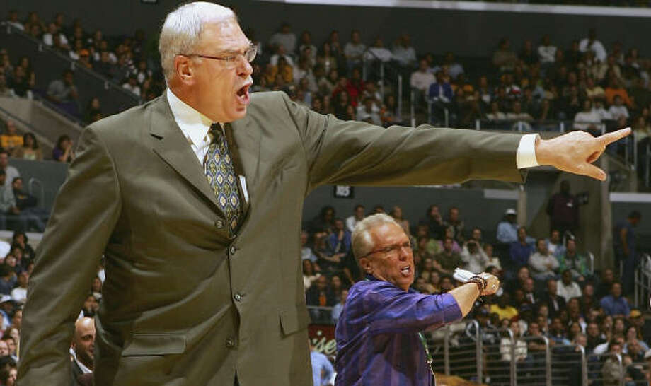 Phil Jackson took a 927-399 record as a head coach into Thursday night's game. Photo: Lisa Blumenfeld, Getty Images