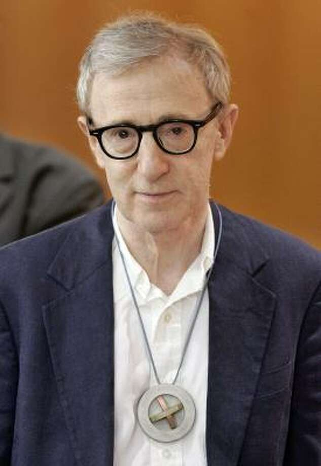 U.S. actor and director Woody Allen receives the honorary doctorate of the University of  Pompeu Fabra in Barcelona, Spain, in this June 14 photo. Photo: MANU FERNANDEZ, AP