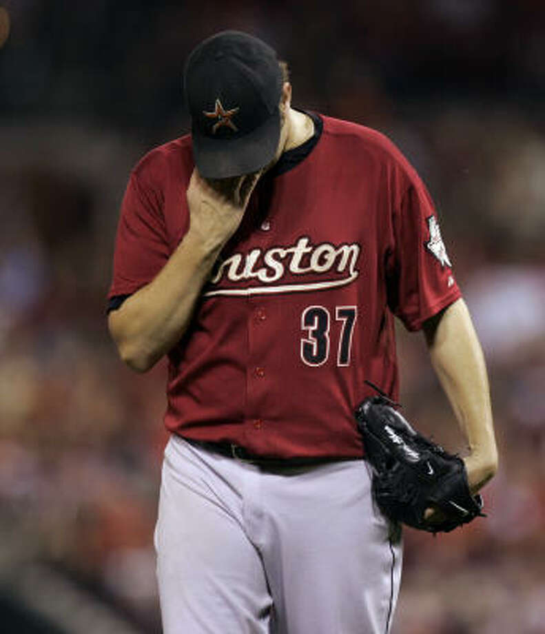 Matt Albers gave up 11 hits but only two runs in his six innings. Photo: Jeff Roberson, AP