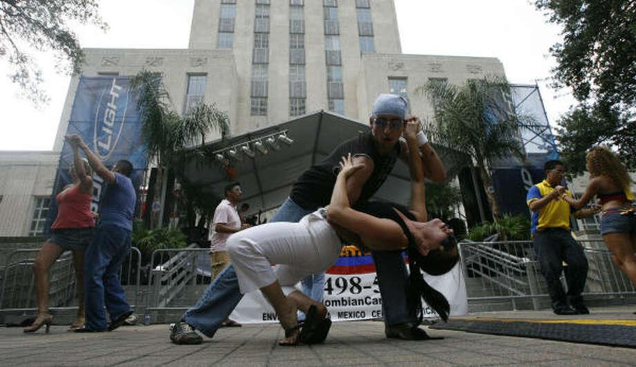 Danza, comidas típicas y artesanías es lo que encontrarás en el Colombian Fest. Photo: Billy Smith II, La Voz