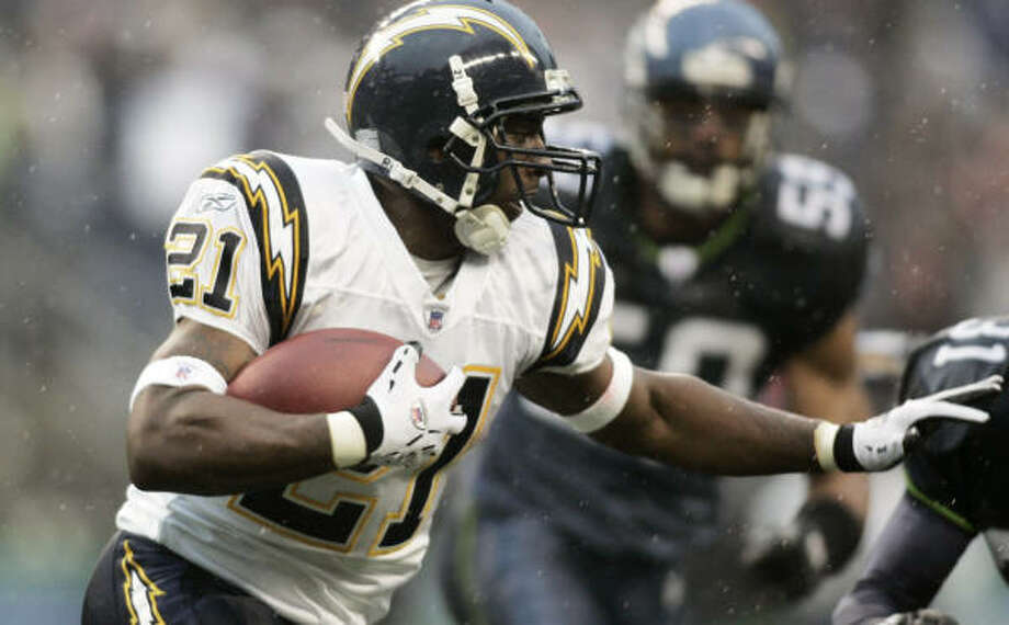 Chargers running back LaDainian Tomlinson is a prime candidate to win NFL Most Valuable Player honors. Photo: John Froschauer, AP