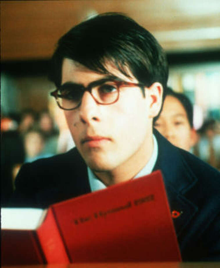 A precocious high-schooler played by Jason Schwartzman stages bizarre plays and woos a teacher also pursued by a Houston businessman in Rushmore. Photo: Van Redin, Touchtone Pictures