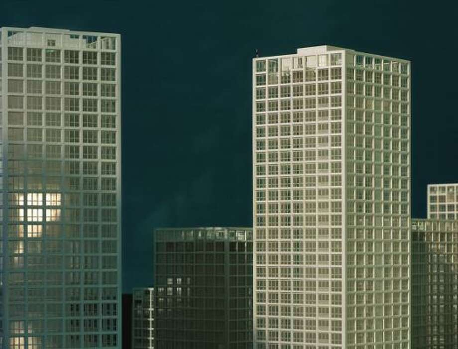 At first glance, Xing Danwen's Urban Fiction No. 17 looks like any cityscape.
