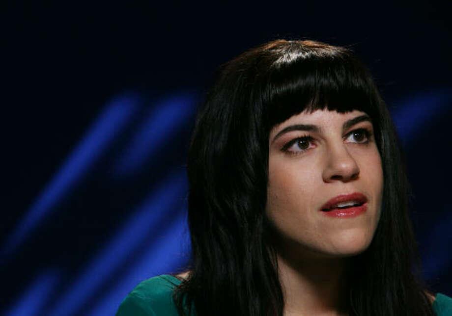 Terra Naomi won YouTube's best music video award for her song Say It's Possible. Photo: BEBETO MATTHEWS, Associated Press