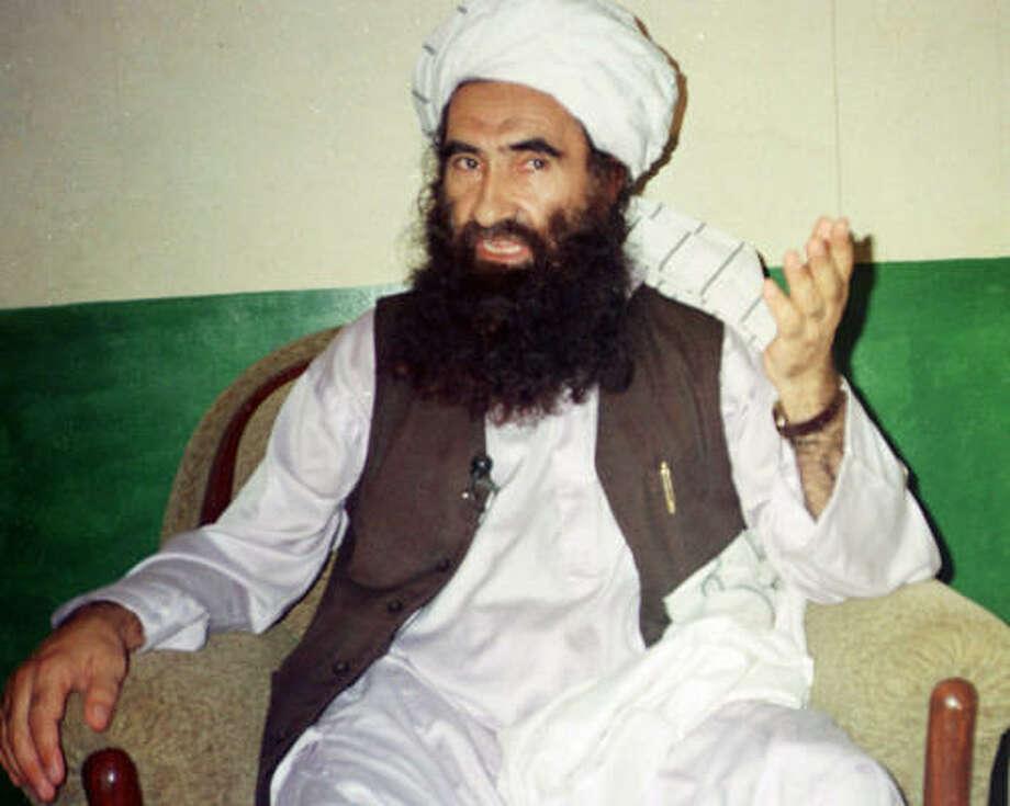 Jalaluddin Haqqani. Photo: MOHAMMED RIAZ, AP File