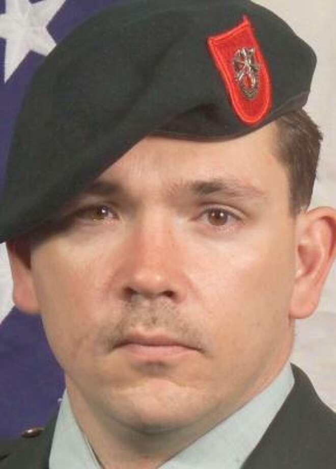 Army Sgt. 1st Class Jeffrey D. Kettle Photo: Handout Photo