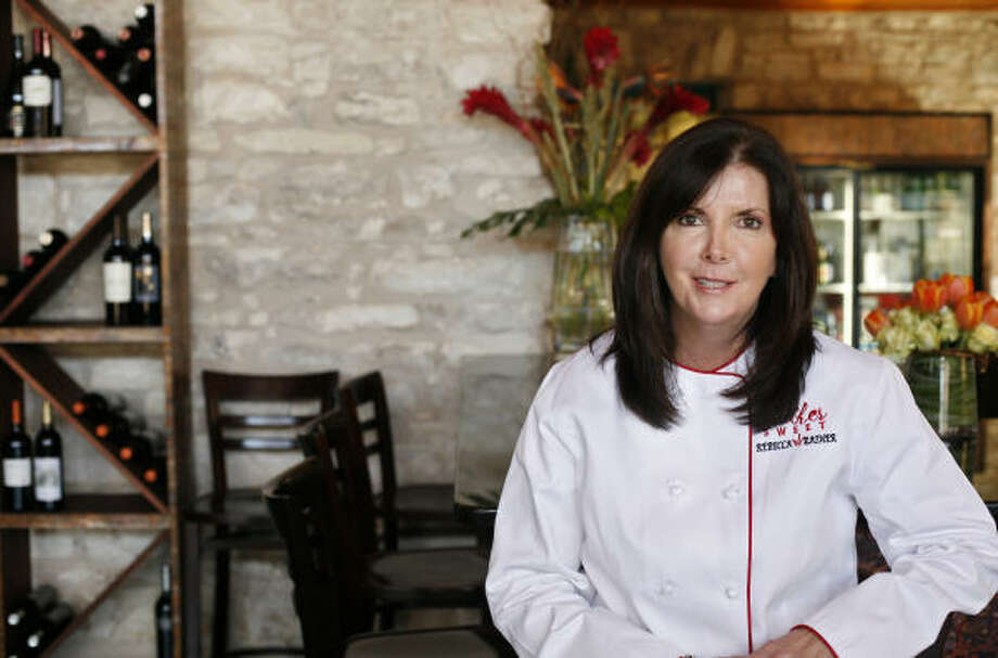 VENTURING OUT:Rebecca Rather, author of The Pastry Queen Christmas and owner of the Rather Sweet Bakery & Cafe, recently opened a new restaurant, Rebecca's Table, in Fredericksburg. Photo: J. MICHAEL SHORT, FOR THE CHRONICLE