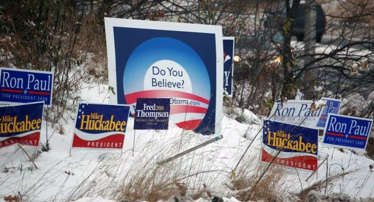 """Despite the independence of New Hampshire voters, """"once voters start voting, all the predictions go out the window."""""""