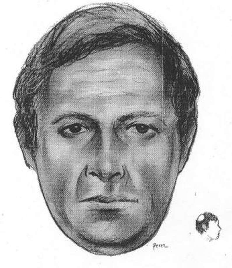 This artist's sketch provided by the New York Police Department shows a man suspected of hacking psychologist Kathryn Faughey to death with a meat cleaver at her Upper East Side office Tuesday night. Photo: AP