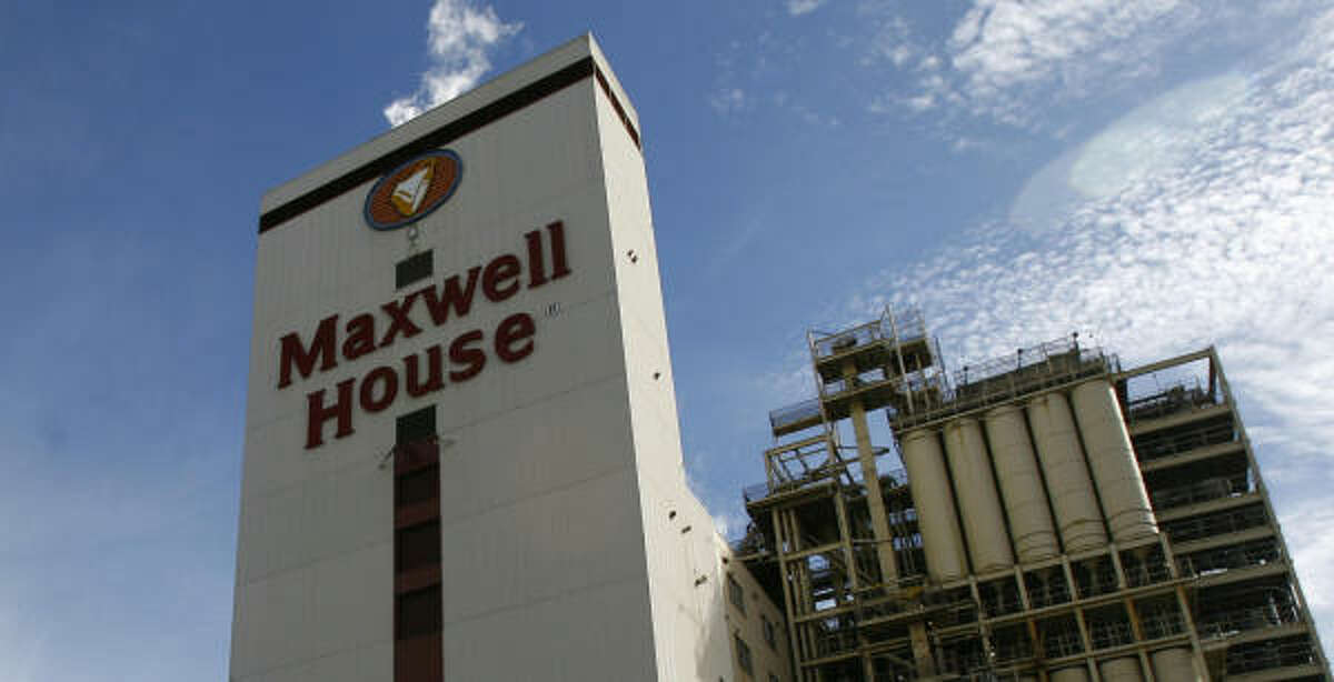 Before: Maxwell House coffee was roasted at the Harrisburg plant since 1947.