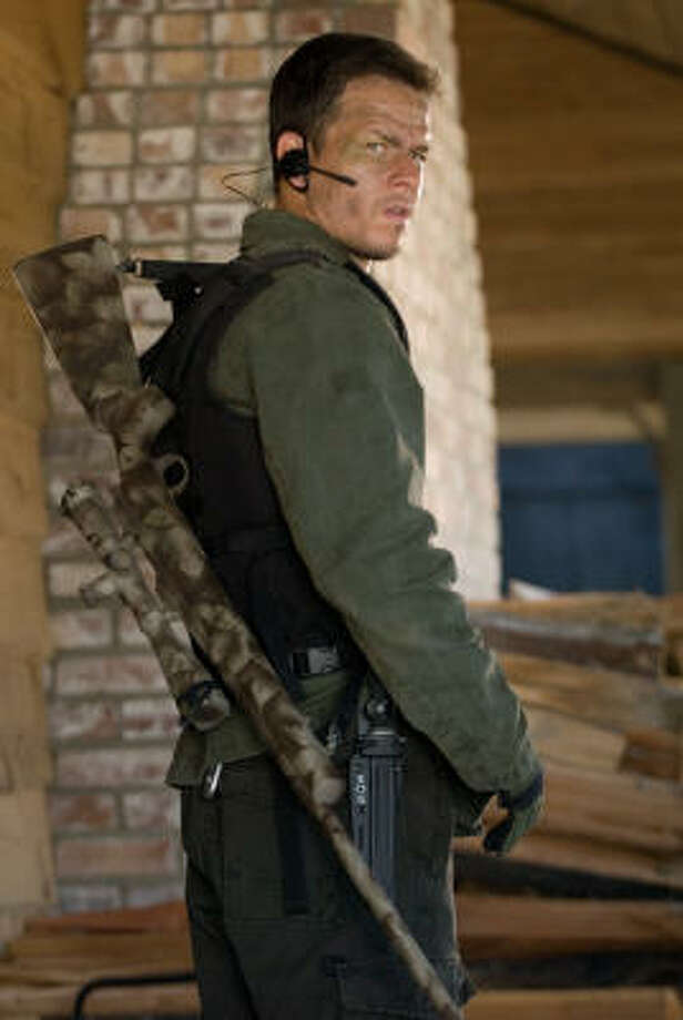 A former Marine Corps sniper (Mark Wahlberg) becomes the subject of a nationwide manhunt in Shooter. Photo: Kimberley French, Paramount Pictures