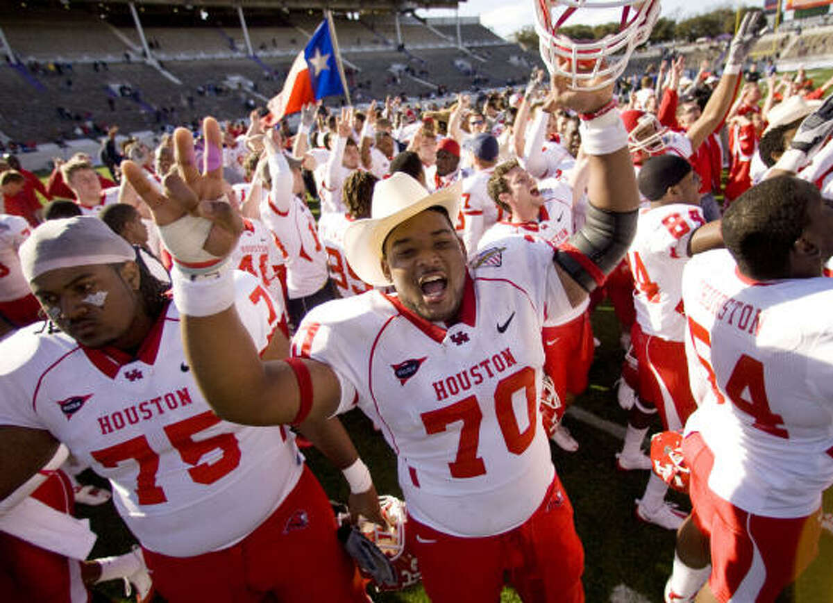 UH will come back to Houston as a bowl winner for the first time in ages.