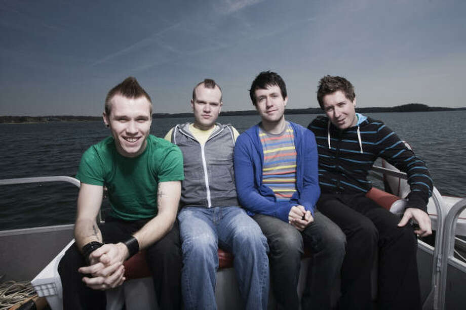 Hawk Nelson will release a summer EP before its full-length CD scheduled for the fall. Photo: COURTESY PHOTO