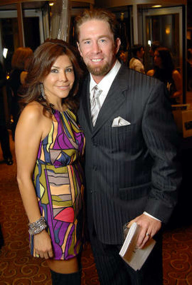 Ericka and Jeff Bagwell Photo: Dave Rossman