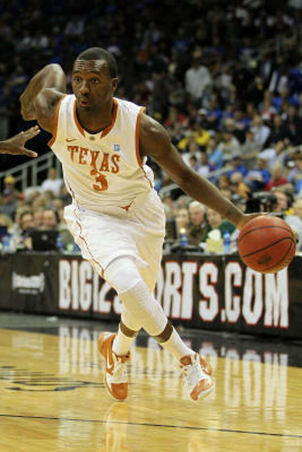 Jordan Hamilton will lead No. 4 seed Texas into the NCAA Tournament, averaging a team-high 18.6 points per game. Photo: Jamie Squire, Getty Images