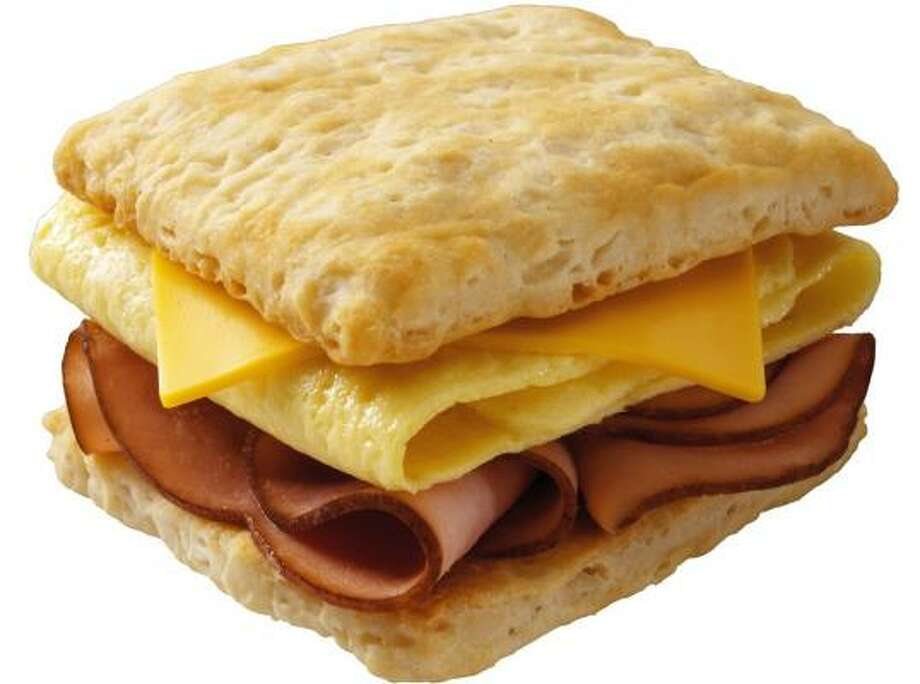 Wendy's Buttermilk Frescuit can be made with ham, bacon or sausage. Photo: WENDY'S CORP.