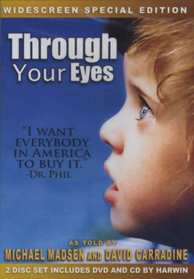 Through Your Eyes is the story of George and Liz Hooker and their daughters, 7-year-old triplets Zoë, Emma and Sophie Dunn, who are deaf and blind. Photo: HAND FREE ENTERTAINMENT