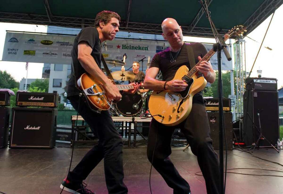 Vertical Horizon headlines Alive@Five at Columbus Park in Stamford, Conn., July 21, 2011.