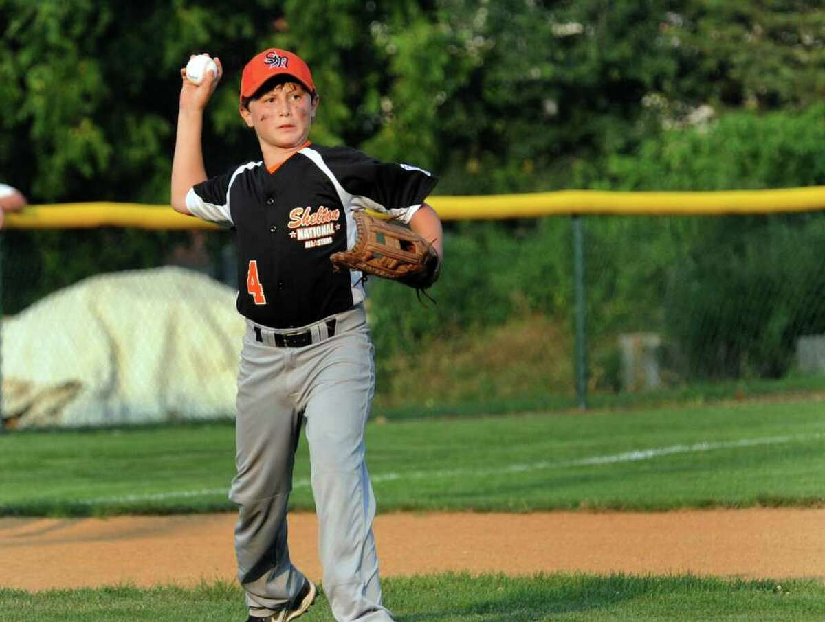 Highlights from little league baseball sectional action between Shelton National and North Stamford in Orange, Conn. on Thursday July 21, 2011.