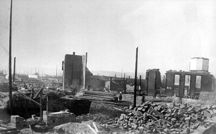 An image taken after the Great Seattle Fire, which started the afternoon of June 6, 1889. Photo: Seattlepi.com File