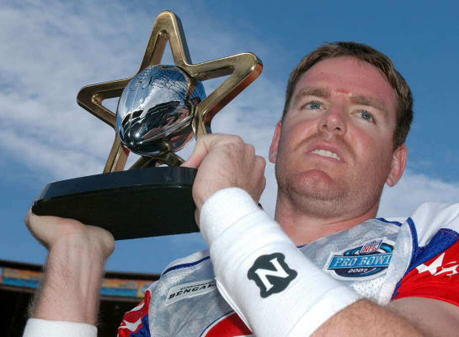 AFC and Cincinnati quarterback Carson Palmer was named MVP of Saturday's Pro Bowl. Photo: RONEN ZILBERMAN, AP