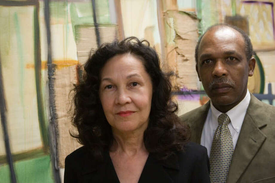 Ella Brown McCoy and Eric Hixon recently noted 20 years as partners in the law firm of Brown & Hixon. Photo: R. Clayton McKee, For The Chronicle