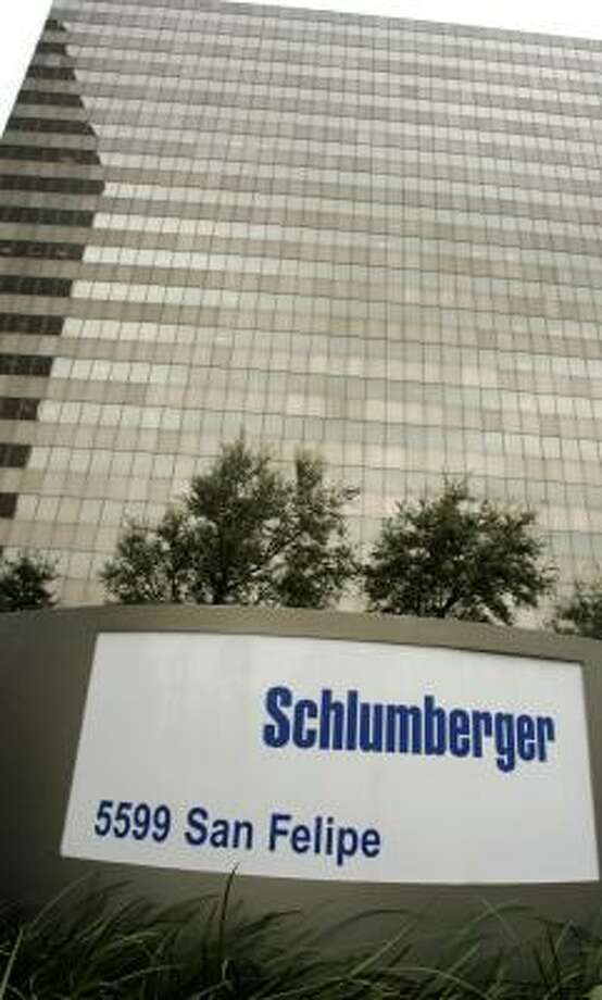 Schlumberger, with a headquarters in Houston, reported a 71 percent rise in the fourth quarter. Photo: PAT SULLIVAN, ASSOCIATED PRESS