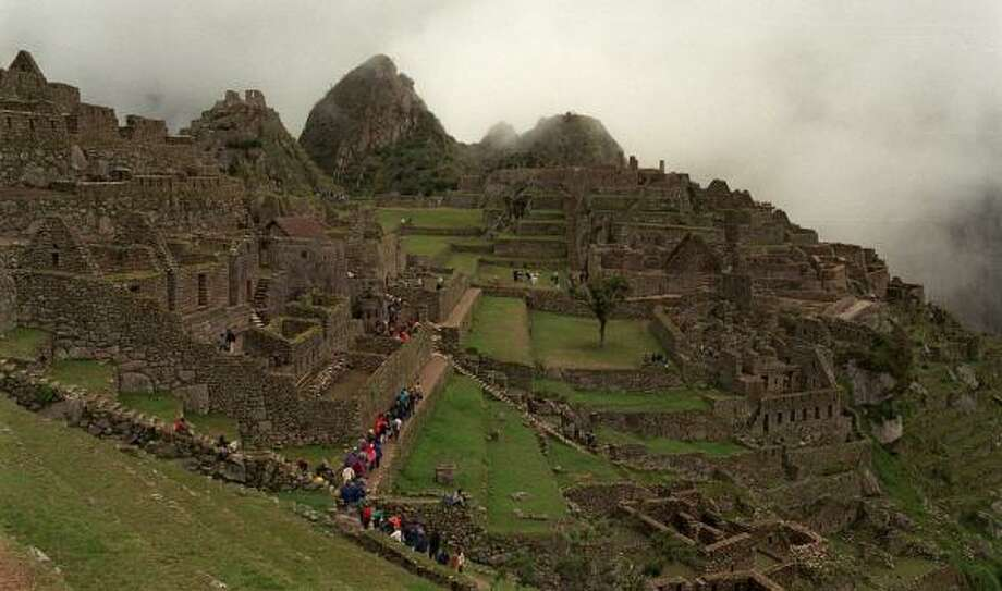 Guided by a Nature Conservancy expert, you can travel Peru and end your trip at Machu Picchu. Photo: SHIRLEY SALEMY MEYER, ASSOCIATED PRESS