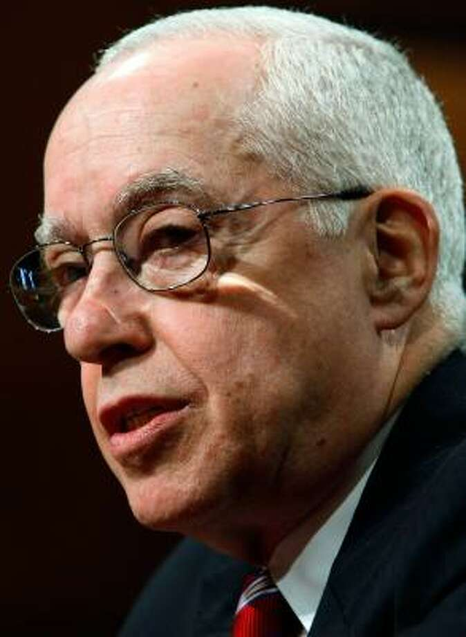 Michael Mukasey Photo: Win McNamee, Getty Images