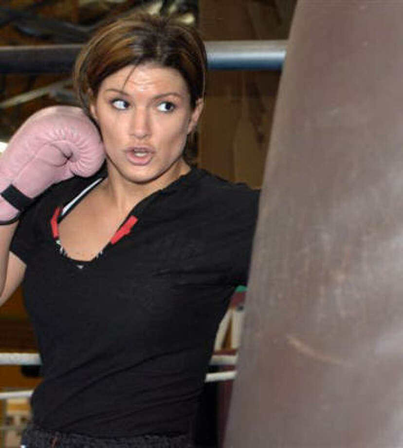 Gina Carano is helping to push women's mixed martial arts closer to the mainstream. Photo: PHOTO COURTESY OF ELITEXC