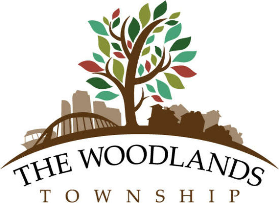 The Woodlands Township recently adopted a new logo to represent its expansion to a community-wide special district. The logo includes a single large tree in the center, with businesses on one side and homes on the other. The logo also features the Lake Robbins Bridge and The Woodlands Waterway Taxi. It was designed by Woodlands resident and artist Jeff Peterson. Photo: Submitted Photo, The Woodlands Township