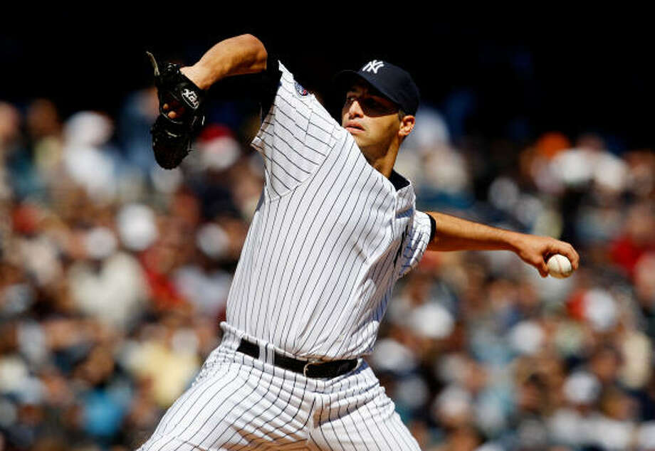 Former Astros lefty Andy Pettitte is said to have reached a deal to remain in the Yankee pinstripes. Photo: Nick Laham, Getty Images