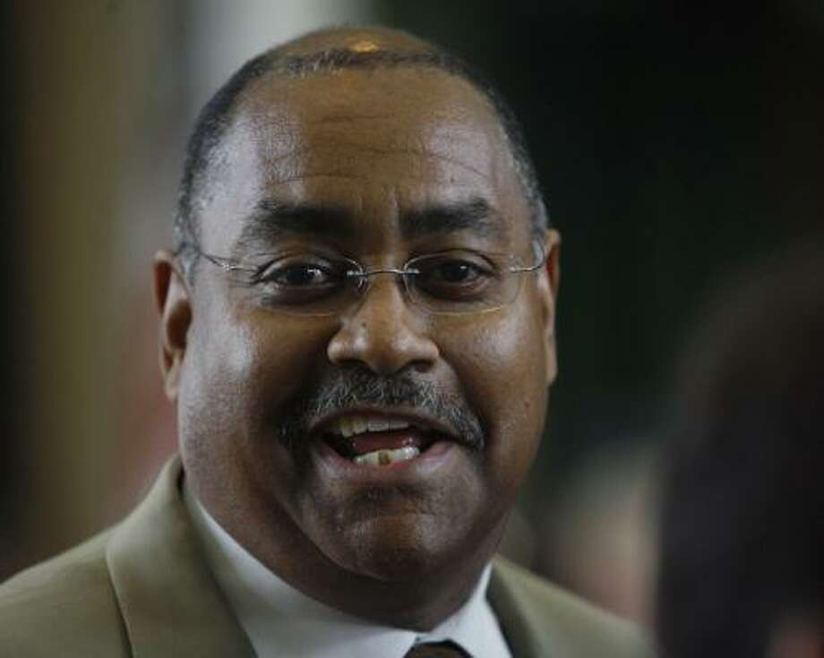 Sen. Rodney Ellis has faced criticism for mixing public work with private business as an investment banker. Photo: Harry Cabluck, Associated Press