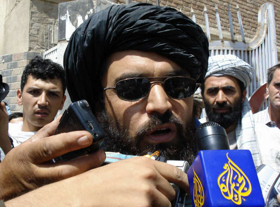 Taliban representative Mullah Qari Bashir said negotiations for the release of the hostages in Afghanistan were going well. Photo: MOHAMMAD YAQUBI, AFP/Getty Images