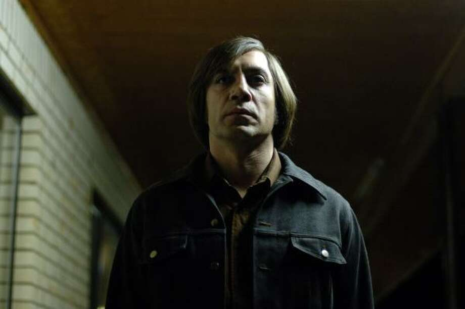 Javier Barder plays Anton Chigurh in No Country for Old Men. Photo: Richard Foreman, Associated Press