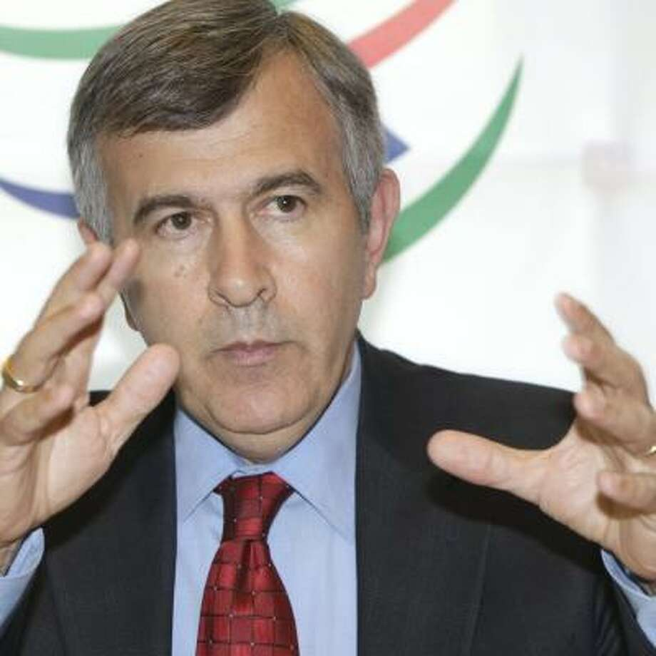 U.S. Agriculture Secretary Mike Johanns expressed frustration with the early end to the talks. Photo: MARTIAL TREZZINI, KEYSTONE