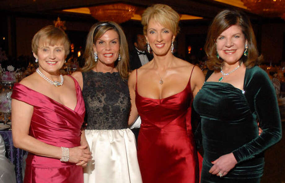 ABC/Channel 13 Women of Distinction honorees included Anne Graubart, from left, Debra Grierson, Alicia Smith and Julia Frankel. They were presented Saturday night in festivities at the Hilton Americas-Houston. Photo: Dave Rossman, For The Chronicle