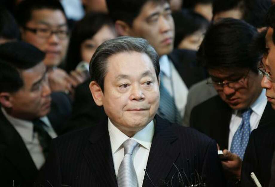 Samsung Group chairman Lee Kun-Hee. Photo: Chung Sung-Jun, Getty Images